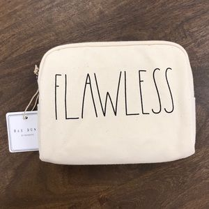 Rae Dunn New FLAWLESS pouch / cosmetic bag
